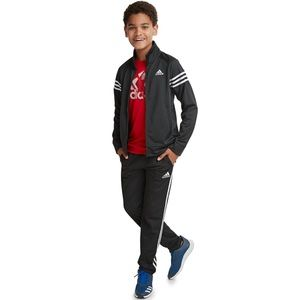 NEW Boy's Adidas Essential Iconic Tricot Pants
